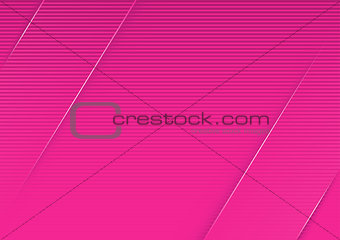 Abstract Pink Striped Background
