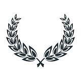 laurel leaves wreath
