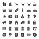 Commerce Solid Web Icons