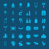 Barbecue Solid Web Icons
