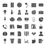 Business Office Solid Web Icons