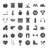 Fitness Dieting Solid Web Icons