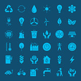 Ecology Environment Solid Web Icons