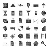 Money Banking Solid Web Icons
