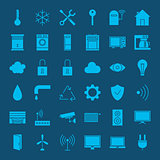 Smart Home Solid Web Icons