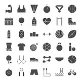 Sport Fitness Solid Web Icons