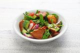fattoush salad, Lebanese cuisine