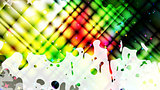 abstract grunge colorful background, vector