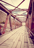 Old bridge in Tilcara, Argentina