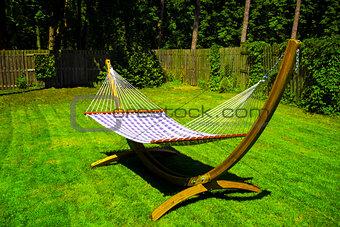 Sunny Hammock in Garden