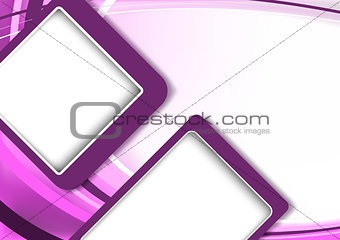 Abstract Modern Background in Purple Tones