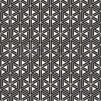 Vector seamless pattern. Modern stylish abstract texture. Repeating tiles