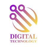 Technology, biotechnology, hi tech icon and symbol. EPS 10