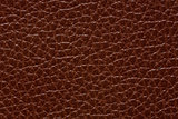 Contrast leather texture in perfective brown colour.