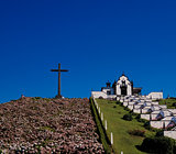 View to Our Lady of Peace Chapel, Sao-Miguel, Azores, Portugal