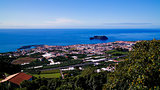 Aerial view to Islet of Vila Franca do Campo ,Sao Miguel, Azores, Portugal