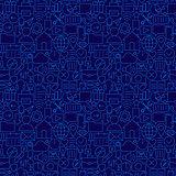 Web UI UX Seamless Line Pattern