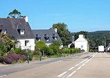 Breton village Huelgoat
