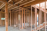 New Home Construction Wood Framing