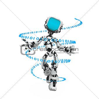 Blue Screen Robot, Code