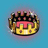 Golden crown, state power