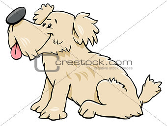 dog or puppy cartoon comic character