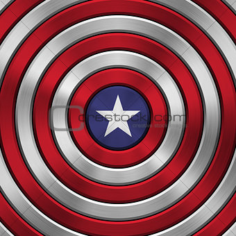 4th of July Independence Day Badge