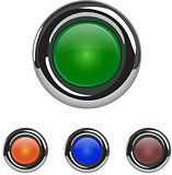 Colorful button set