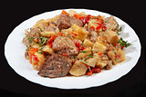 Roasted Meat With Potatoes