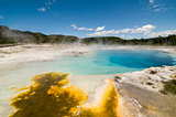 Sapphire Pool in Biscuit Basin, Yellowstone National Park, Wyoming