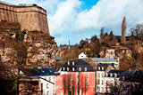 Grund Quarter in Luxembourg City