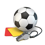 Football concept 3D