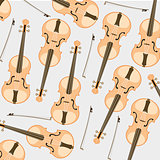 Pattern from violin and joining