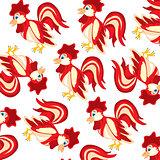 Bird cock pattern