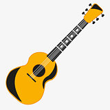 Music instrument guitar