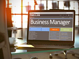 We Hiring Business Manager. 3D.