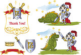 Fairy Clipart LITTLE KING AND DRAGON