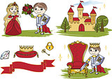 Clip Arts LITTLE KING CASTLE