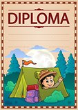 Diploma template image 2