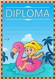Diploma template image 3