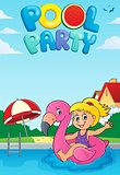 Pool party theme image 4