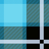 Blue Tartan, plaid seamless pattern. Textured plaid
