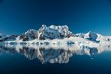 Mountain view in Antarctica