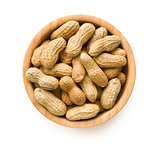 dried peanuts in bowl