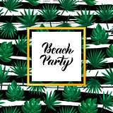 Beach Party Tropical Concept