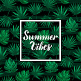 Summer Vibes Tropical Concept