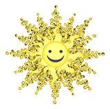 Happy Face Sun
