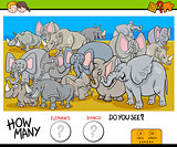 counting elephants and rhinos game for kids