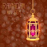 Ramadan Kareem. Concept of a Islamic holiday