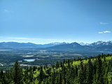 Hiking views from Mount John Laurie, Yamnuska